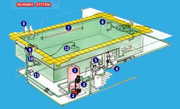 ออกแบบระบบสระว่ายน้ำ